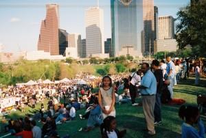 Buffalo Bayou Park, Houston 1994
