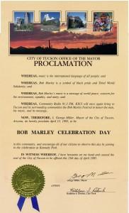 City of Tucson Honors Festival Tour Proclamation